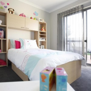 U-Pleat Kids Room