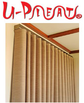 U-Pleat Curtains - Ask for them in store!