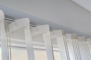 Roll pleat curtains curtains pleat perth uni q products for Roller pleat curtains